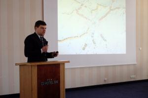 Wojciech Smęt podczas prezentacji - Warsztaty WDSN