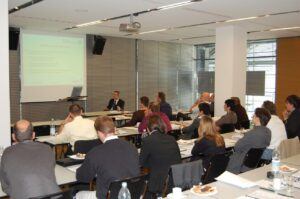 Debate during the first exchange of experience in 2007